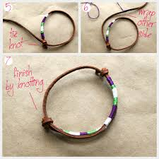 how to make leather friendship bracelets leather friendship bracelets diy project