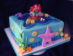Birthday cake ideas little mermaid ~ Birthday cake ideas little mermaid ~ Beautiful little mermaid cake party ideas mermaid