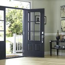 black double front doors. Double Doors Front Entry Exterior Black Door With French Glass