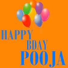 happy bday pooja image