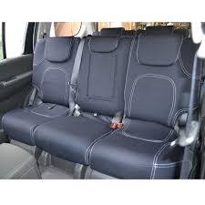 wet seat neoprene seat covers toyota landcruiser 100 105 series wagon 3 1998 9 2007