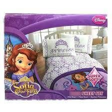 sofia the first bedding the first bedding the first 3 piece twin sheet set the first