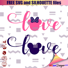 You can download in.ai,.eps,.cdr,.svg,.png formats. Love Mickey And Minnie Mouse Free Svg Bgartdesigner Free Svg