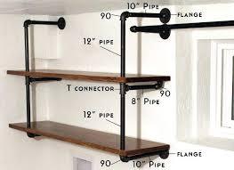 pipe shelves industrial pipe shelving pipe shelving shelving and pipes pipe shelves corner plumbing shelves diy pipe shelves