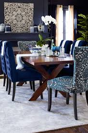 Full Size of Dining Chair:wonderful Blue Fabric Dining Chair Benchwright  Premium Tufted Rolled Back ...