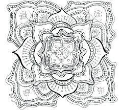 Mandala Coloring Pages Printable Free Heart Mandala Coloring Pages