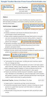 Format Of Teacher Resume Sample Teacher Resume Combination Style 96