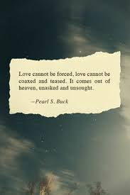 Pure Love Quotes Love cannot be forced image 100 by violanta on Favim 92