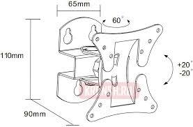 <b>Кронштейн</b> на стену <b>Ultramounts UM 830T</b> agree
