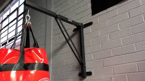 everlast heavy bag wall mount bracket
