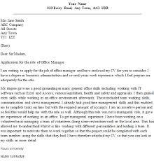 Office Manager Cover Letter Sample Lettercv Com