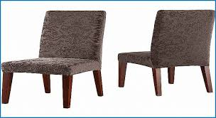 new sure fit stretch jacquard damask short dining room chair slipcover