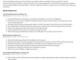 Breathtaking Bookkeeping Resume 3 Bookkeeper Resume Sample