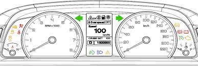 ford falcon dashboard warning lights