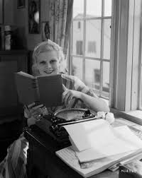jean harlow reads on the lot