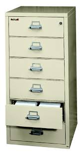 Fire Proof Filing Cabinets Fireking 6 2552 C Fireproof Six Drawer Card Check And Note Filing