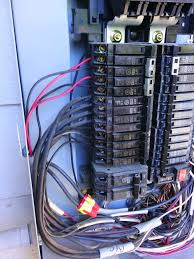 diy install of 200 amp combination service entry and load center Wiring A Homeline Service Panel close up of where the conductors enter the panel this is my big concern right now i need to figure out placement of the panel in order to not have to Electrical Wiring Main Service Panel