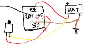 push button start bypassing ign switch and relay dsmtuners push button diagram jpg