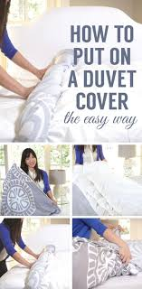 watch and see the easiest way to put on a duvet cover home