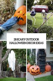 28 Scary Outdoor Halloween Decor Ideas Shelterness