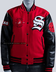 varsity letterman jackets faux leather