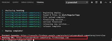 Angular 7: Deploying App To Firebase Hosting - TechNet Articles ...