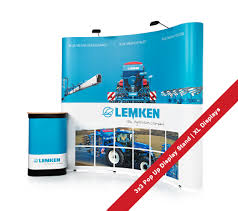 Pop Up Display Stands Uk 100x100 Pop Up Stand for Lemken Agrovison exhibition 100 x 100 Pop Up 3