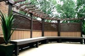 deck screens ideas deck screening ideas privacy screens screen outdoor plants