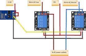 linking the esp8266 to a raspberry pi through mqtt power strip schematics