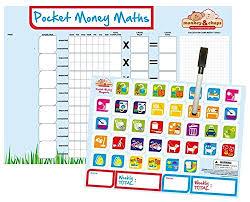 Monkey Chops Kids Reward Chart Allowance Chart
