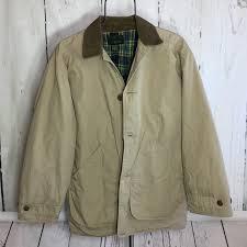 J Crew Barn Jacket Khaki Mens Xs