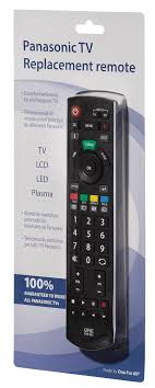 panasonic tv controller. panasonic tv replacement remote one for all urc1914 tv controller 0