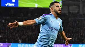 Manchester City's Riyad Mahrez picks his dream five-a-side team