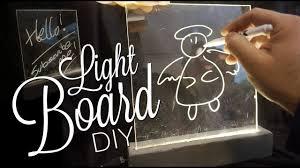 Diy Light Sign Board Diy Light Board