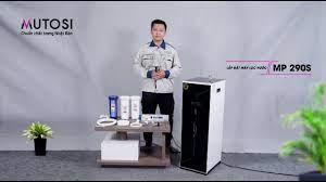Hướng dẫn lắp đặt Máy lọc nước Mutosi MP-290S - YouTube
