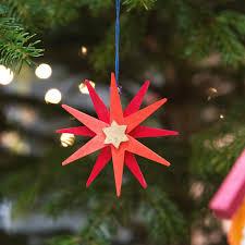 Weihnachtsstern Als Baumschmuck