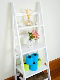 wooden ladder shelf furniture. Bookshelf, Awesome Ladder Bookshelf White Small Shelf Leaning With Tissue And Plant Wooden Furniture L