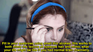 watch satirical makeup tutorial shows you how to get that depression chic look
