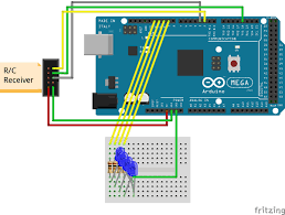 how to use an r c controller arduino and simulink makerzone circuit diagram