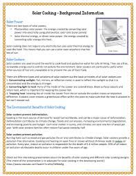 Solar Oven Temperature Chart Host A Solar Cookout For Earth Day Scholastic