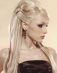 Prom Hair Style Up prom blonde updo hairstyles for long straight hair with side bangs 4922 by wearticles.com