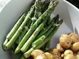 asparagi alla parmigiana  italian asparagus gratin