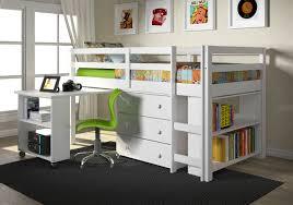 kids bunk bed with desk. Brilliant Desk Donco Kids Low Study Loft Bed In Bunk With Desk
