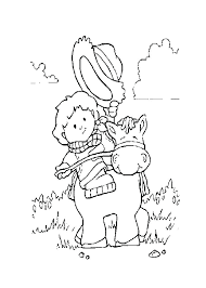 Western Coloring Pages Printable Dr Schulz