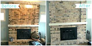 how to clean fireplace brick wall oven cleaner best way beforehow to clean fireplace brick wall