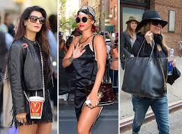 celebrities you may or may not recognize are carrying bags you will love