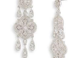nadri ankara chandelier earrings nordstrom exclusive in silver