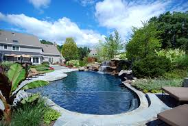 Swimming Pool In Backyard Awesome With Photos Of Swimming Pool Plans Free On