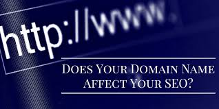 does your domain name affect your seo