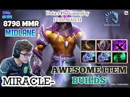 dota 2 miracle plays anti mage awesome item builds full